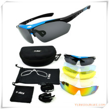 Promotion Gift for Sports Eyewear Set with Pounch and Case