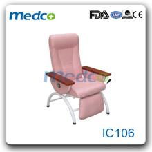 IC106 Лучший продавец! Капельное кресло для переливания крови хорошее качество кожи