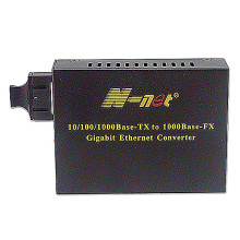 Gigabit 100KM fiber media converter