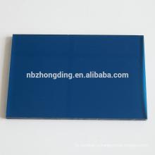 Синий полые листы ПК пленка lexan лист поликарбоната цена поставщиков