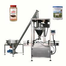 máquina de envase automática para potes de leite café em pó