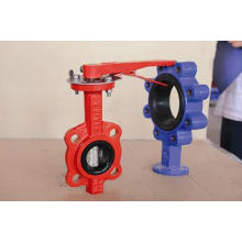 Cast Iron Body-Midline Valve