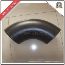 Coude long à rayon de soudage A105 en acier au carbone (YZF-E352)