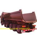 HYVA Hydraulic Cylinder U Shape Dump Tipper Trailer