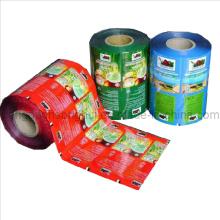 Polvo de té instantáneo Embalaje de plástico Película de rollo / Embalaje de alimentos Rollo de película