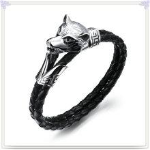 Joyería de moda cuero joyería pulsera de cuero (lb155)