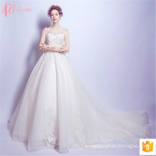 2017 Роскошные Последний Бальные Платья Свадебные Платья Из Бисера Конструкции Китай