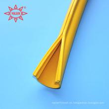 220kv cubierta de línea aérea flexible de goma de silicona aislada