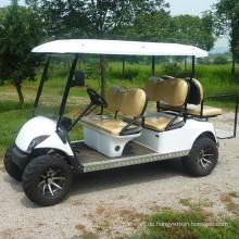 Heißer verkaufender elektrischer Golfwagen mit 6 Passagieren / Besichtigungsbus mit niedrigem Preis