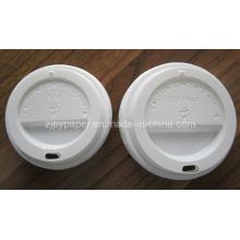 Tapa de plástico para taza de café caliente