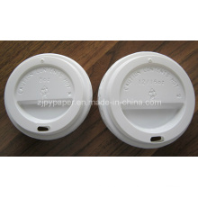 Button Cup Plastic Lid for Hot Coffee Cup
