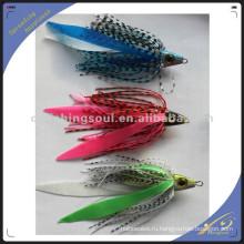 RJL010 Китая оптом морской рыбалки приманки тела ведущие рыболовные резиновые джиги