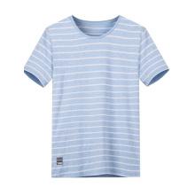 Shenzhen Fabrik maßgeschneiderte Günstige Stripped T-Shirt