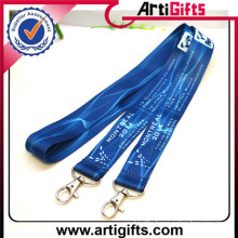 Made in china custom customized fashion heat transfer lanyard for sale