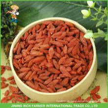 Getrocknete Wolfberry Exporteur in China Goji Berry 380g Körner / 50g Nach Brasilien