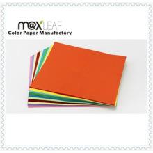 225GSM Taille A4 Cartes d'impression imprimées colorées Étiquette papier