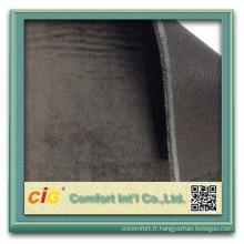 Stratifié de dernière toison corail en gros conception pour le polyuréthane chaussures tissu