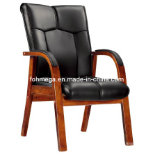 Foot Ball Wooden Leather Chair (FOH-F50)