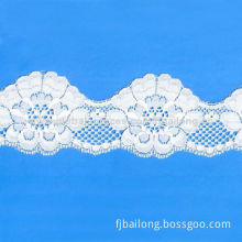 Colorful Inelastic Lace Trim for Garment, Made of 100% Nylon, Available in Various PatternsNew
