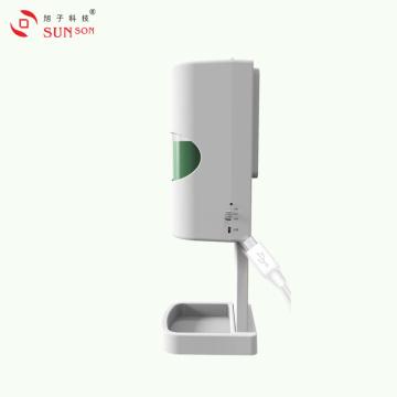 Probador de temperatura de muñeca con dispensador de desinfectante de manos