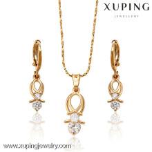 62961-Xuping День Матери Оптовая ювелирных изделий женщины комплект ювелирных изделий продвижение