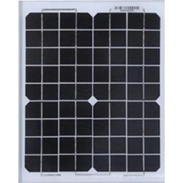 Painel solar cristalino de 125W Mono para a planta de energias solares com TUV, IEC, CE, certificado de Cec
