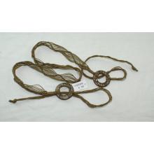 Леди одежды моды Ручные вощеный шнур плетеные ремни-KL0043