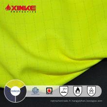 Xinke protection NFPA 2112 modacrylic intrinsèquement ignifuge tissu de fil