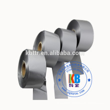 Silver color thermal ribbon ink roll wash resin 35mm*450 for TSC Zebra Sato Datamax printer 1' core