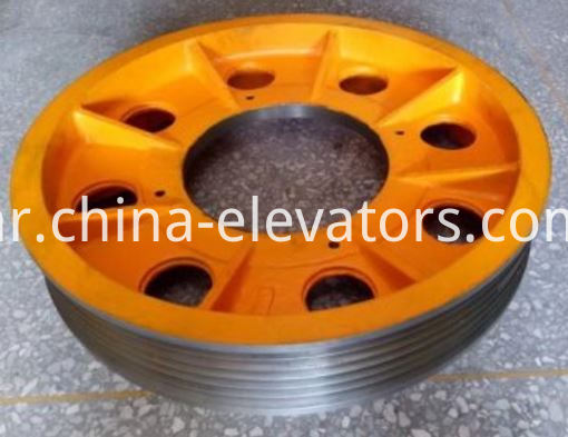 TYS Traction Sheave for Hitachi Elevators 6 Grooves