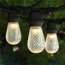 Outdoor Weihnachtsdekoration String Lights E26 mit Glas Handwerk Birne (E26.12 T2)