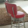 (SP-HBC256) Mobiliario retro americano de los años 50 que cena la silla de cuero de la silla