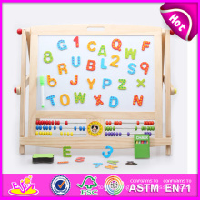2014 Educational Wooden Drawing Board for Kids, Wooden Toy Draw Board for Children, Drawing Board with Magnetic for Baby W12b045 Factory