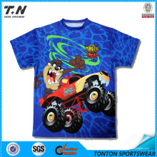 Shenzhen China ODM Sublimation T-Shirts Herstellung