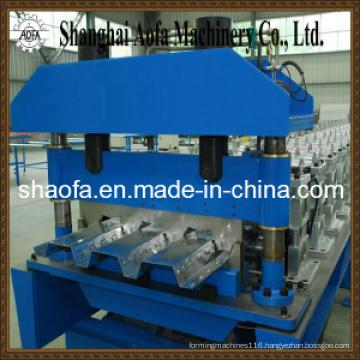 Floor Deck Plate Making Roll Forming Machine (AF-D1025)