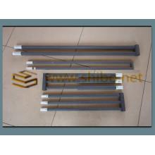Application du réchauffeur au disiliciure de molybdène à hautes températures