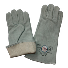 Leather Industrial Welding Safety Gloves