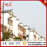 9m square single arm traditional steel pole price