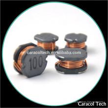Производители проволоки, Намотанной 100uh 0,1 а SMD мощности индуктора для DC-DC преобразователь