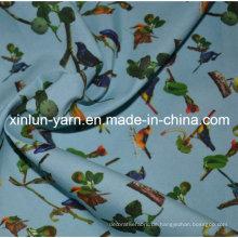 Polyester Spandex Stretch Stoff für Vorhang / Kleid