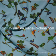 Polyester Spandex Stretch Fabric for Curtain/Dress