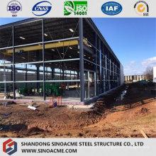 Стальное здание структуры Ферменной конструкции для высотного склада