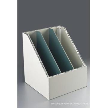 Folder Form Aluminium Wabenplatten