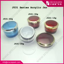 2014 Nuevos pruductos relacionados Premium Envase de crema vacía Envase de plástico de cosméticos al por mayor