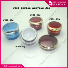 2014 New Premium Related Pruducts Empty Cream Container Plastic Cosmetic Packing Jar Wholesale