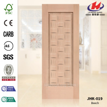 Economic MDF Beech Veneer Low Door Panel