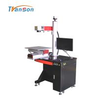 Máquina de marcação a laser de fibra de mesa com mesa deslizante