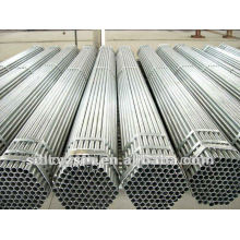 BS 1387 Q195-Q345 St37 2.5 inch Threaded End Galvanized Erw Welded Mild Steel Pipes