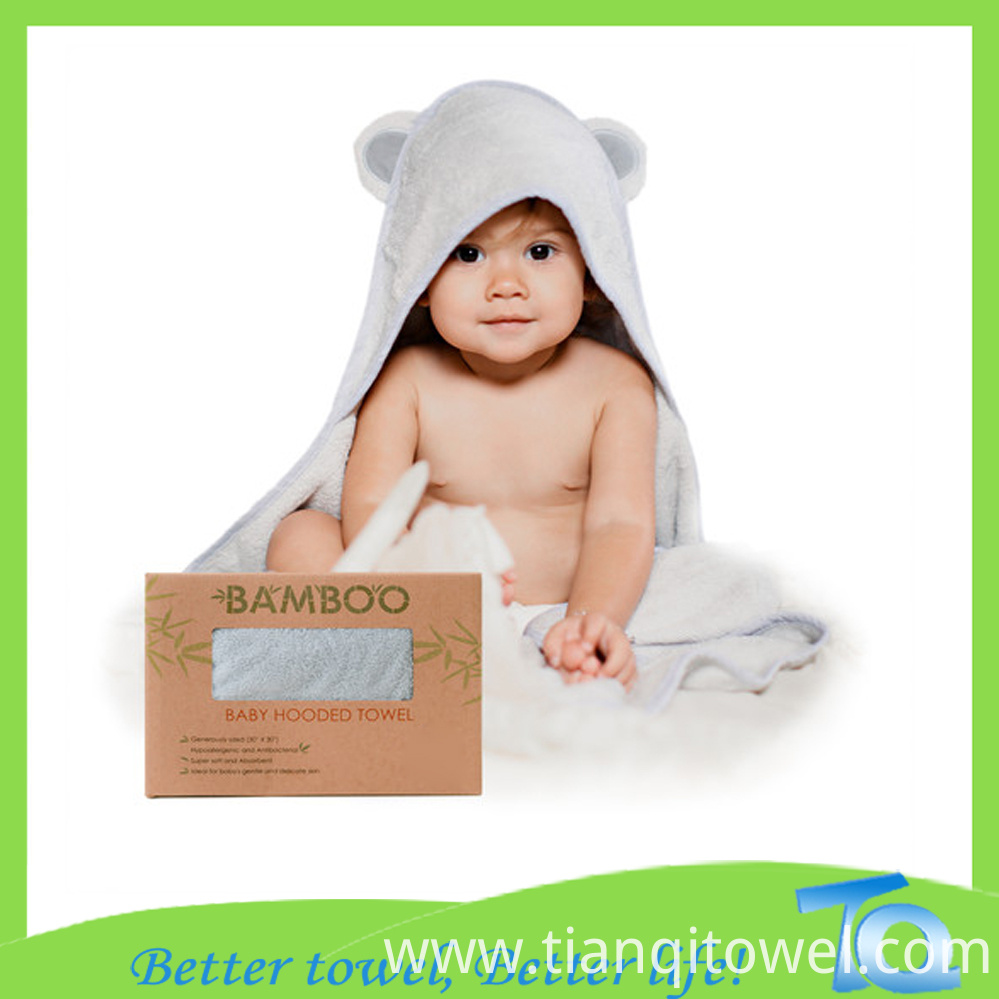Baby Hooded Towel 12