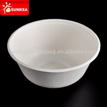 Bagasse sugar cane disposable salad bowl